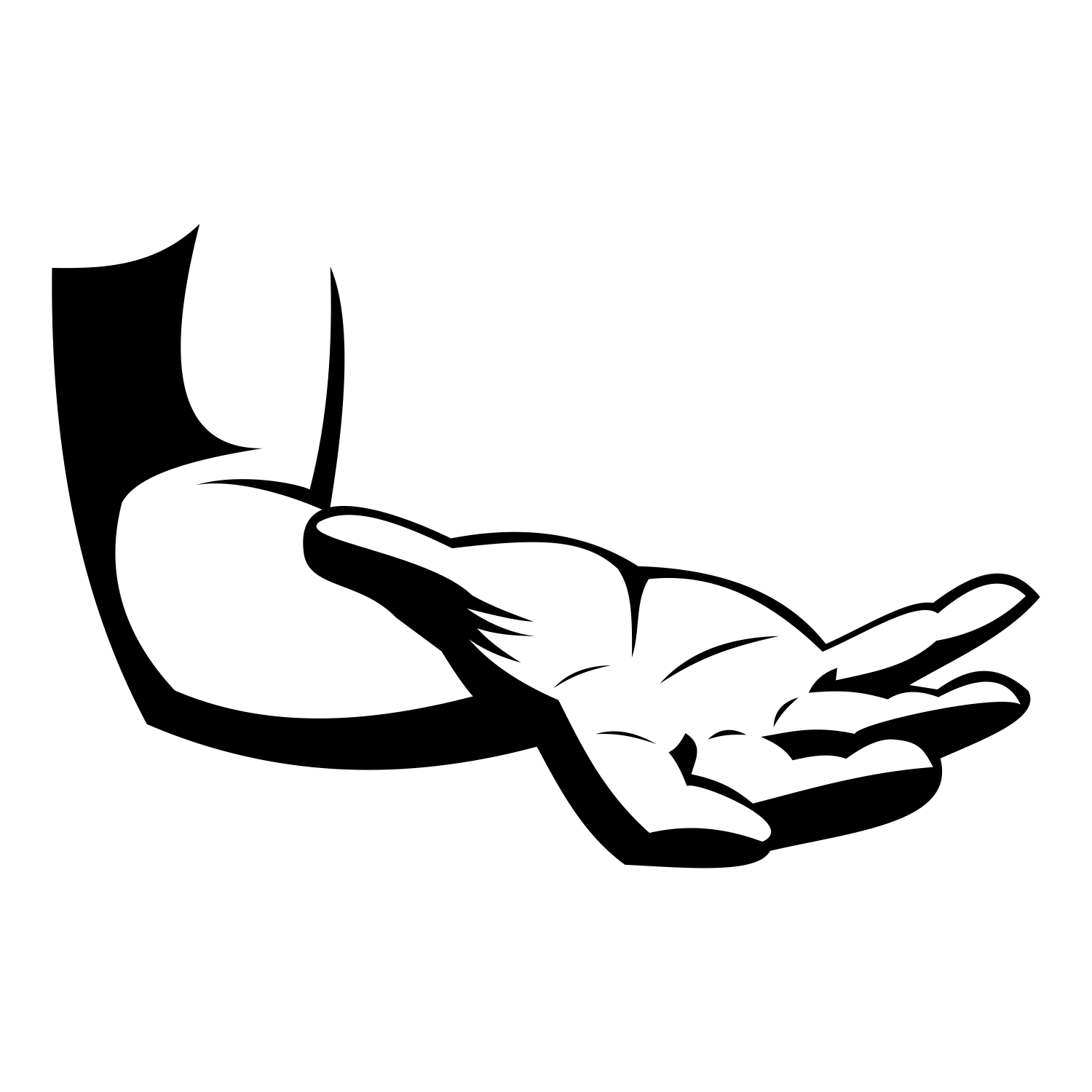 1500x1500 Vector For Free Use Human Hand