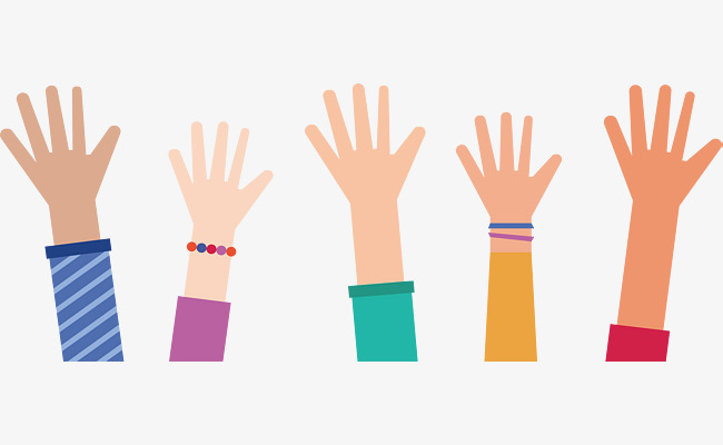 650x400 Everybody Stretched Out His Hand, Vector Png, Raise Your Hands