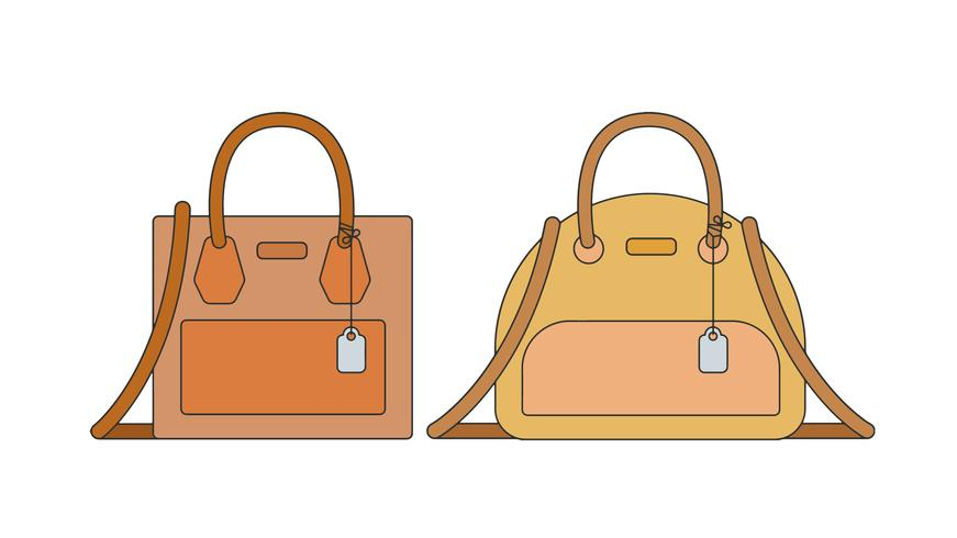 871x490 Handbags Vector
