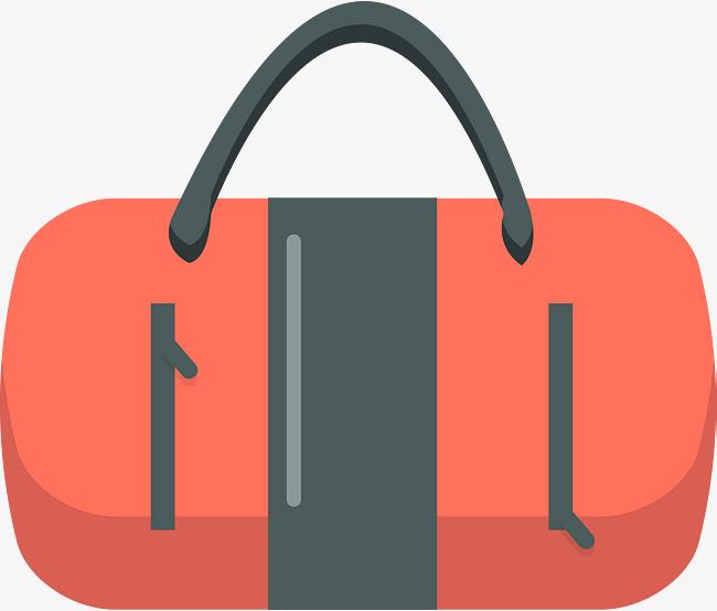 650x554 Red Handbag Vector, Vector Bag, Handbag, Package Png And Vector
