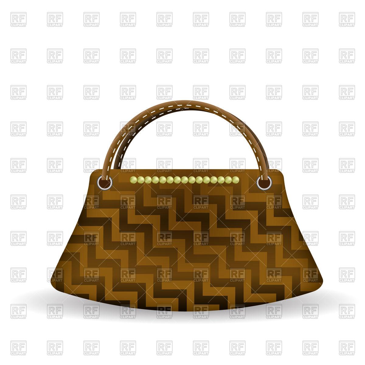 1200x1200 Brown Elegant Handbag Vector Image Vector Artwork Of Beauty