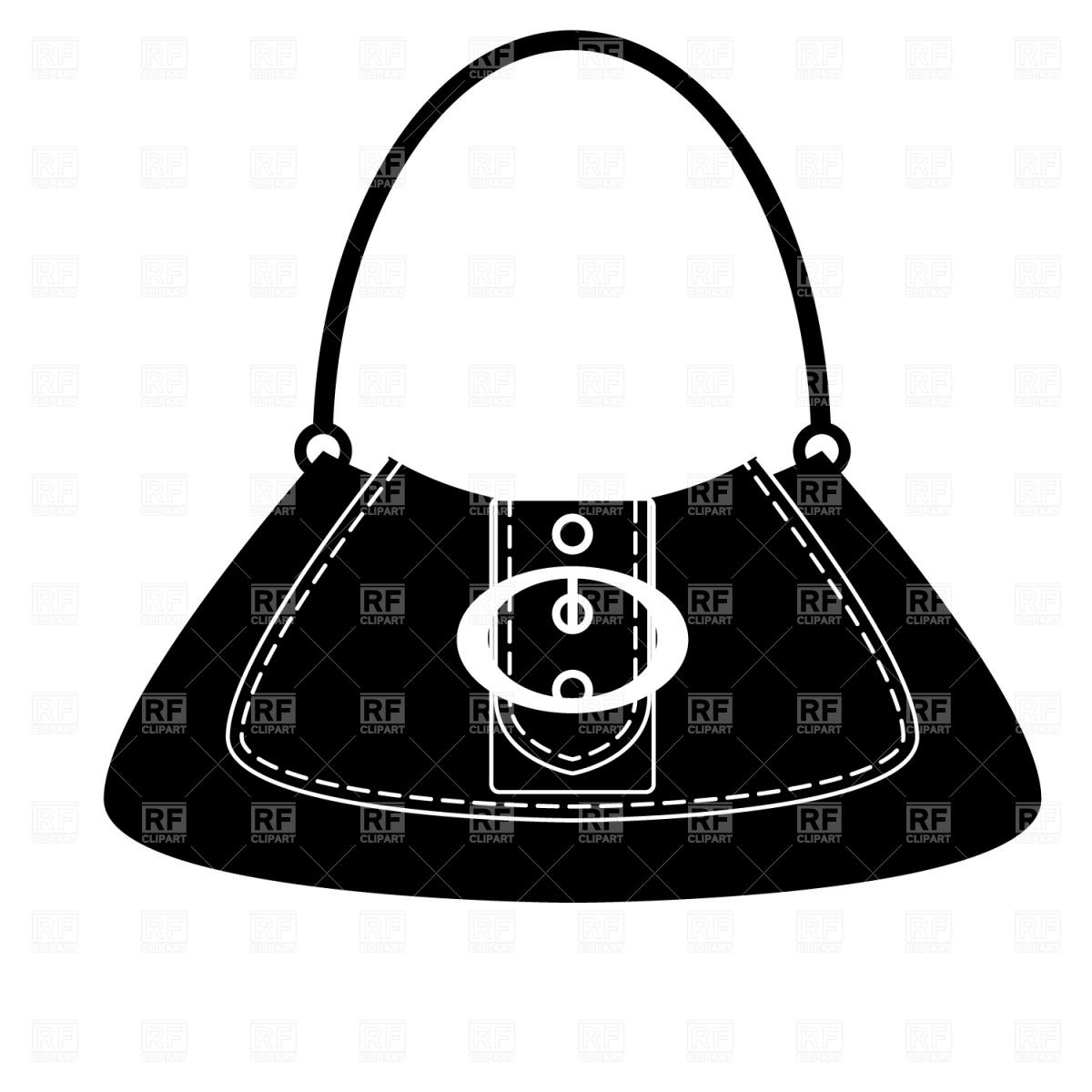 1200x1200 Dolly Bag Vector Image Vector Artwork Of Beauty, Fashion