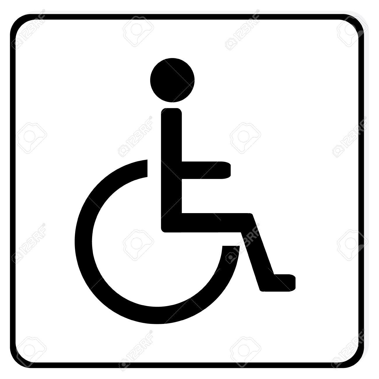 1300x1300 Thrifty Handicap Parking Symbol With Handicap Parking Symbol Photo