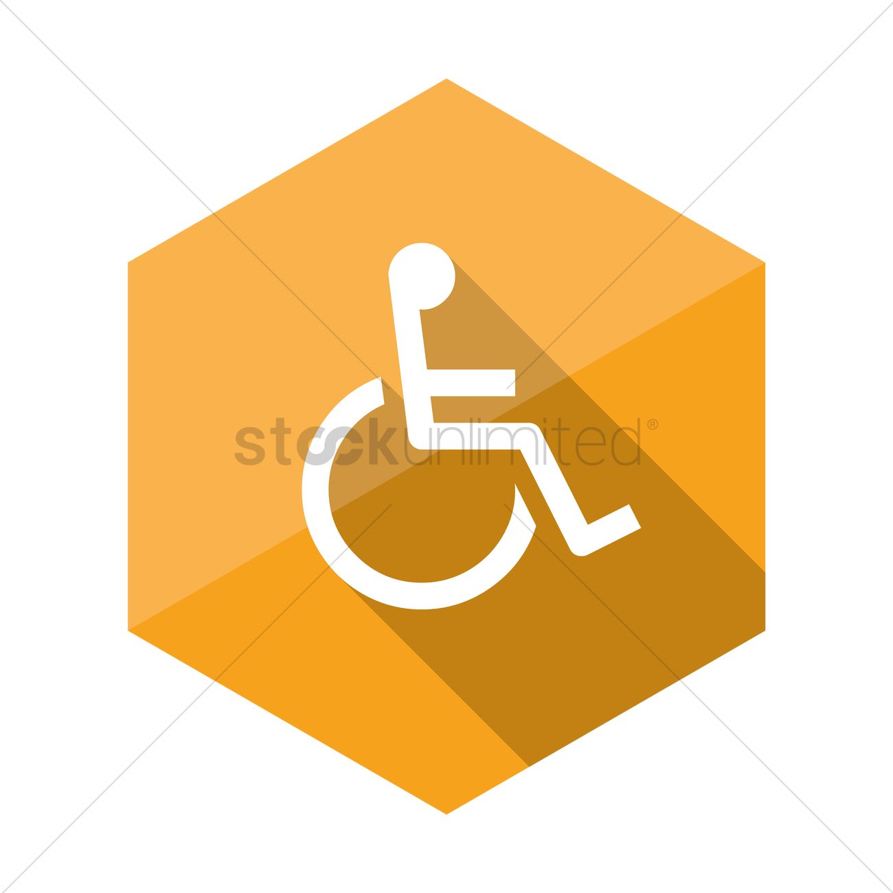 1300x1300 Disabled Handicap Icon Vector Image