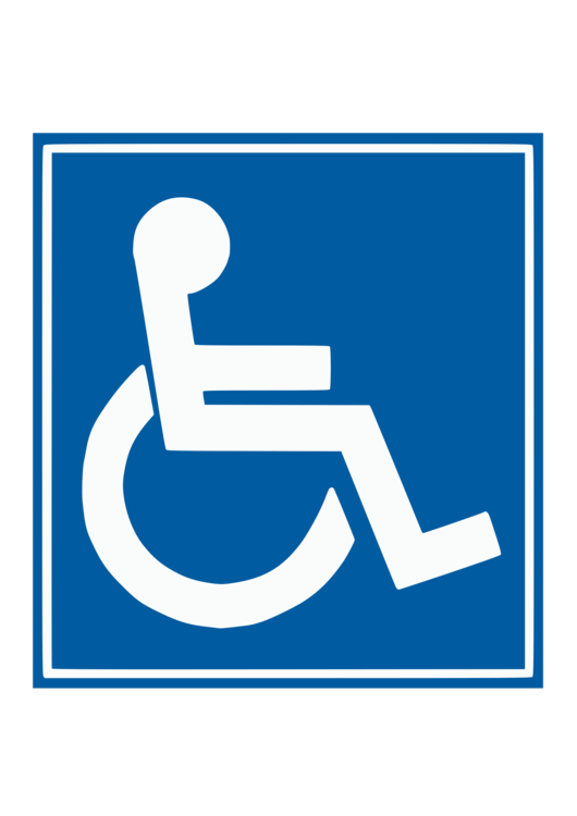 Handicap Parking Sign Vector