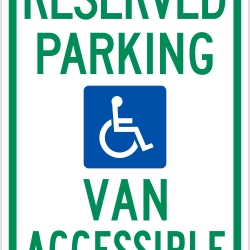 photograph about Printable Handicap Sign identify Handicap Parking Indication Vector at  Free of charge for