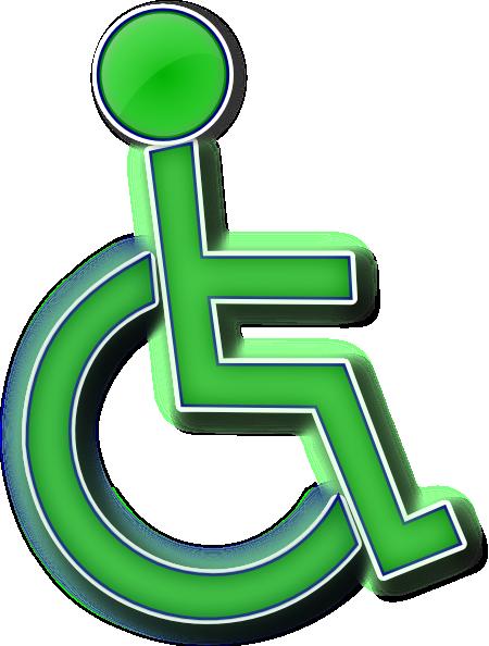 450x594 Handicap Parking Sign Clipart