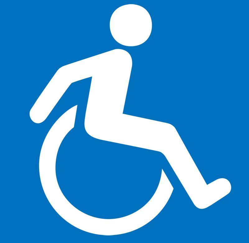 800x781 Handicap Parking Sign Vector Logo