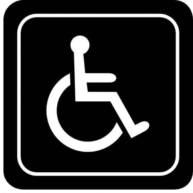 626x626 Handicapped Vector Free