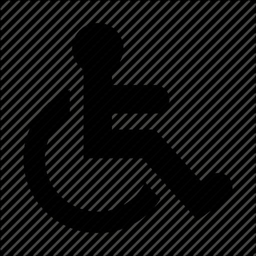 512x512 19 Wheelchair Vector Handicap Parking Huge Freebie! Download For