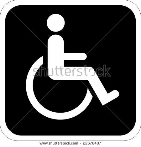 450x470 Clipart Handicap Gratuit