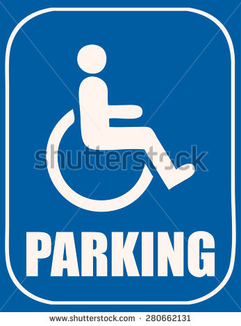 347x470 Clipart Handicapped Parking Sign Collection