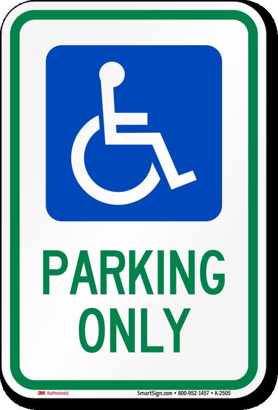542x800 Disabled Parking Template Handicap Parking Permit Clipart 2067089