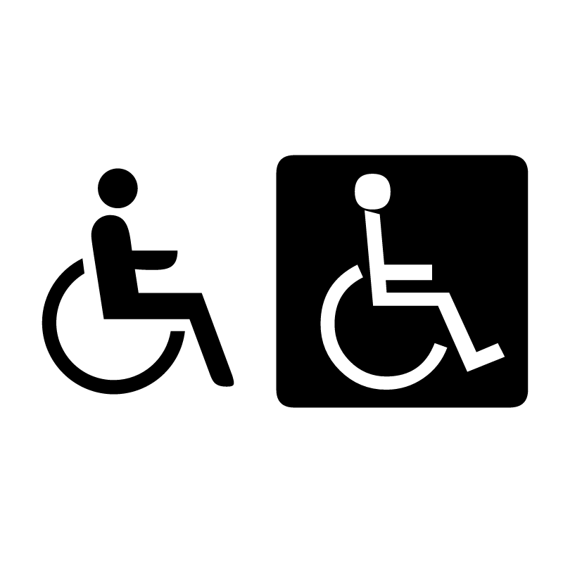 Handicap Sign Vector
