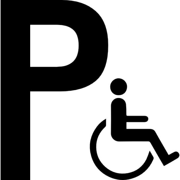 626x626 Handicap Parking Vector Art