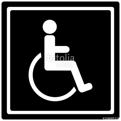 500x500 Handicap Sign Stock Image And Royalty Free Vector Files On