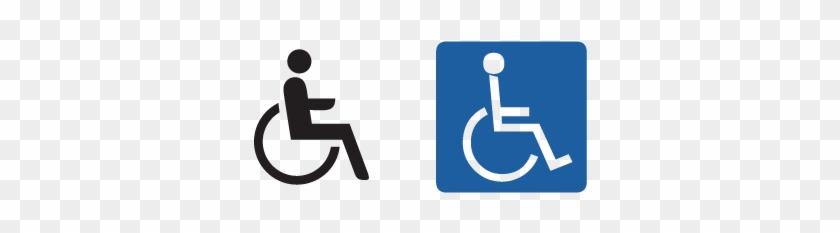 840x233 Handicap Sign Vector, Handicap Signs