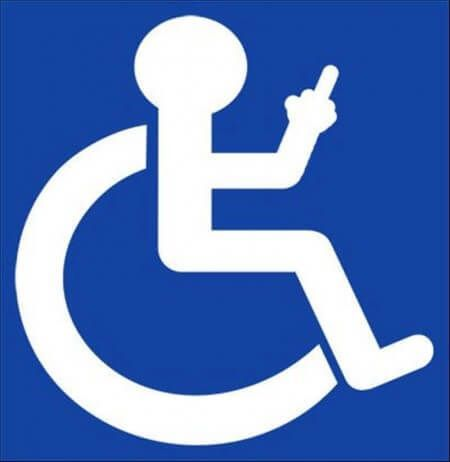 450x462 Logo Handicap Sign Vector