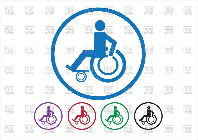 1440x1018 Wheelchair Sign Or Handicap Icon Vector Clipart Lazttweet