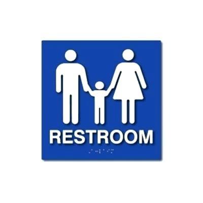 400x400 Family Bathroom Sign