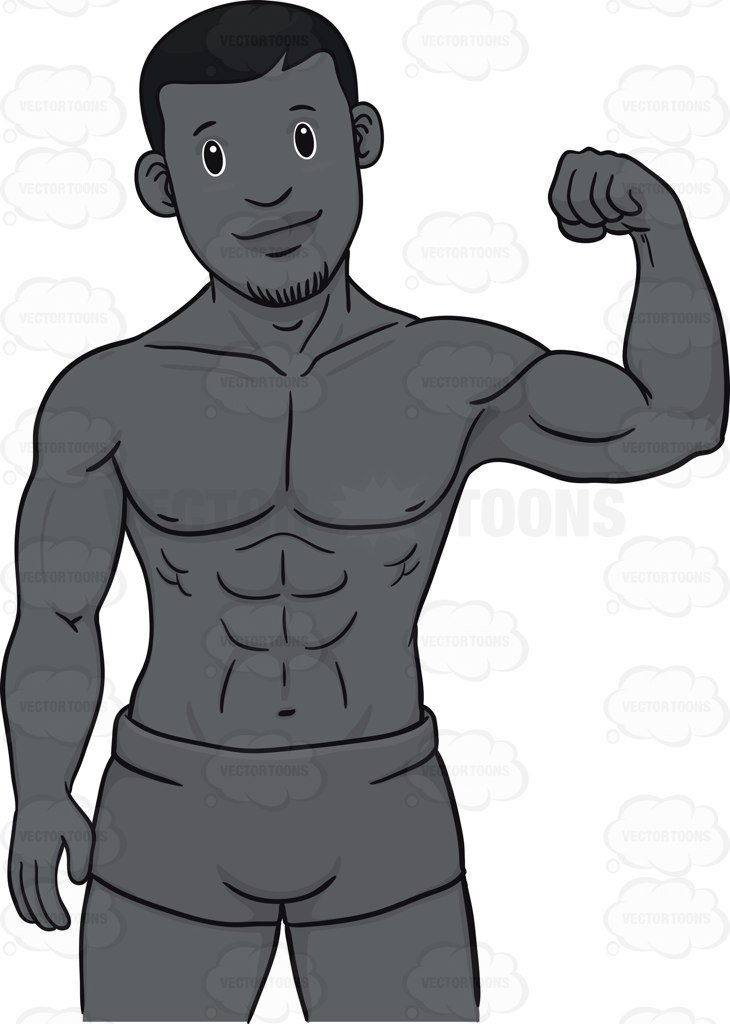 730x1024 Collection Of 14 Free Muscle Clipart Ripped Man Barbed Wire