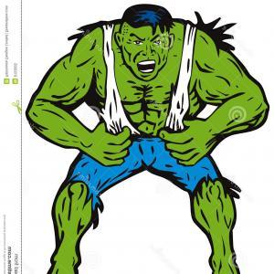 300x300 Stock Illustration Hulk Vector Art Hand Drawn Image Geekchicpro