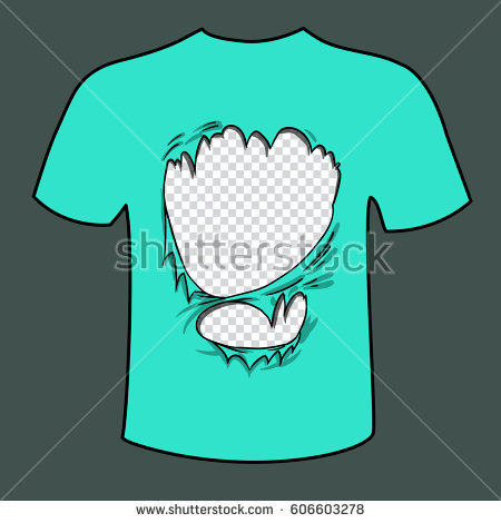 450x470 Collection Of Ripped Shirt Drawing High Quality, Free