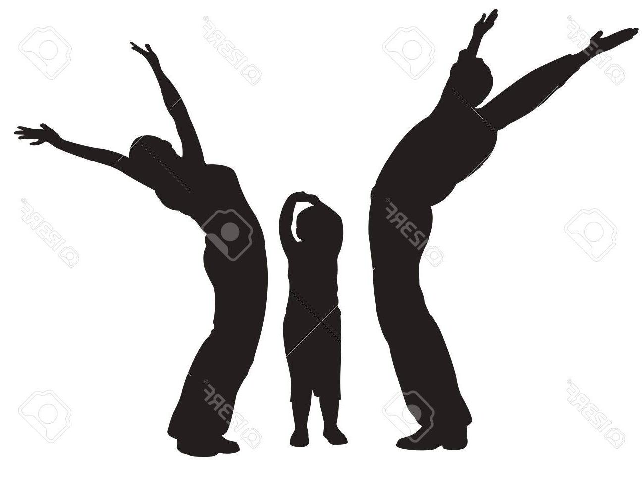 1300x975 Best 15 Family With Baby Hands Up Vector Photos