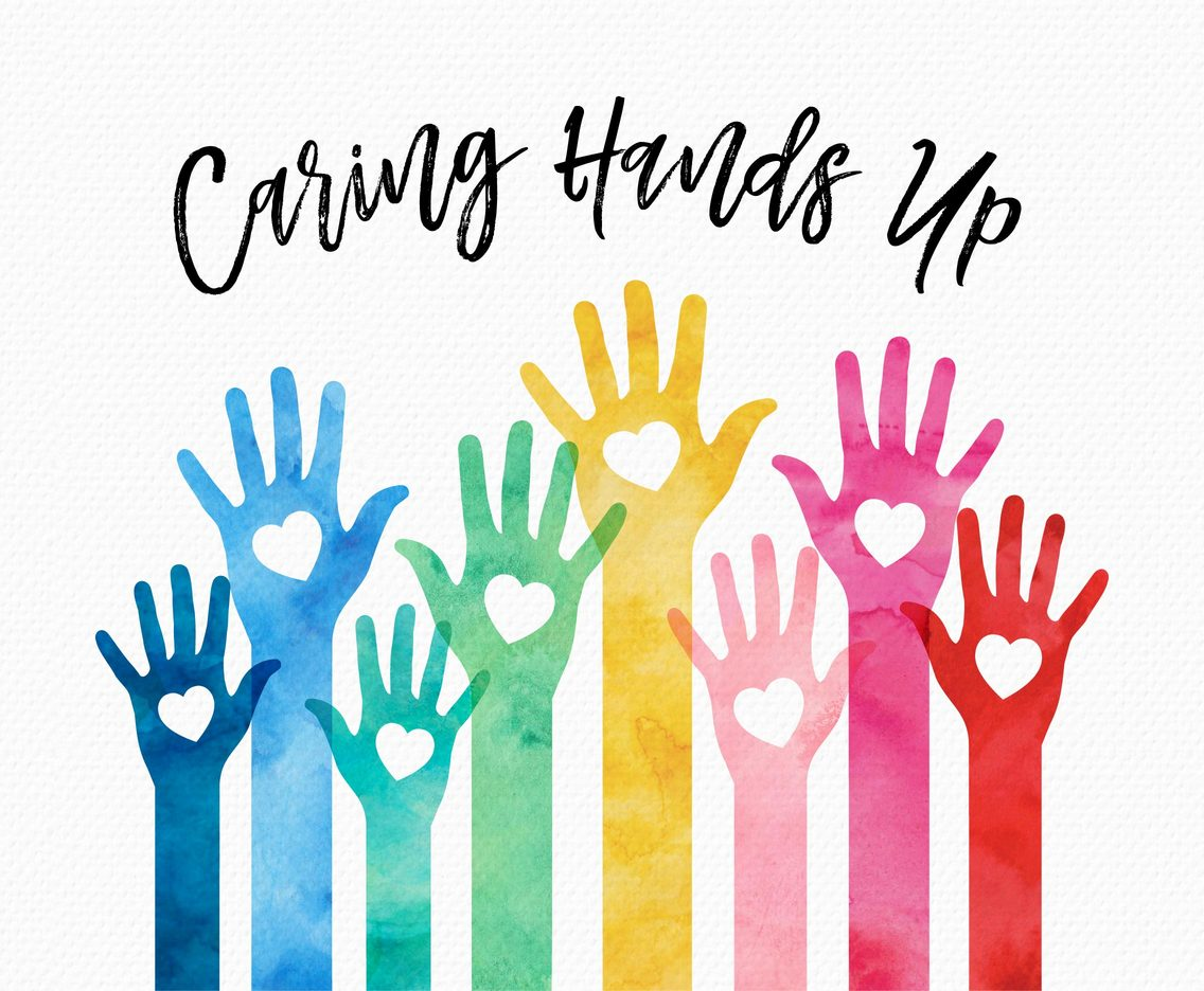 1136x936 Colorful Caring Hands Up Vector Art Amp Graphics