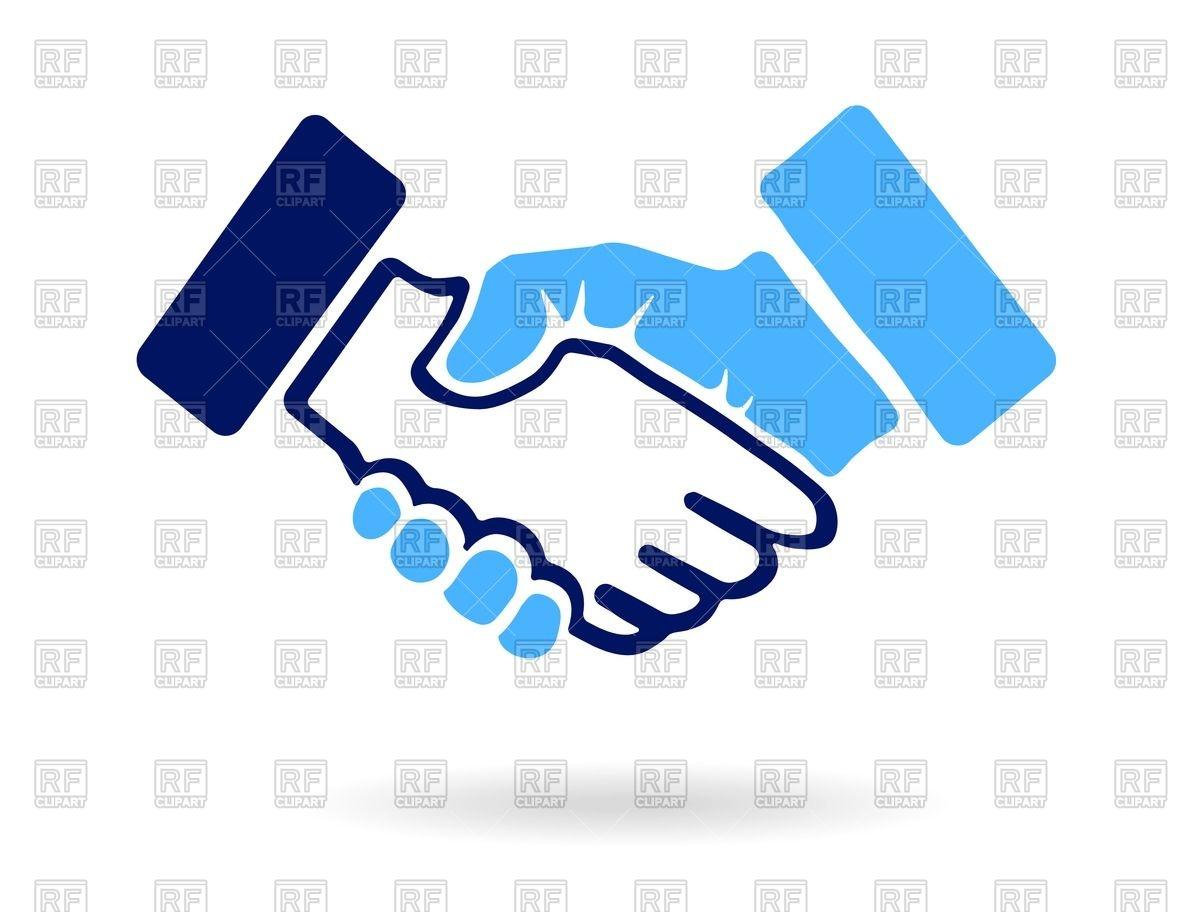 1200x912 Handshake Icon Vector Image Vector Artwork Of Signs, Symbols