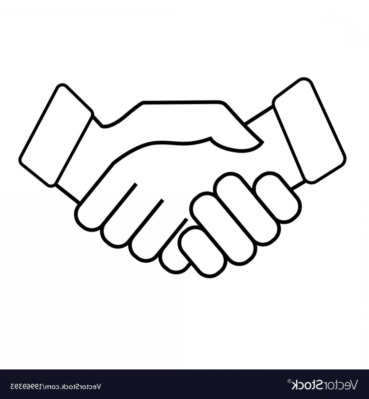1200x1296 Business Handshake Icon On White Background Vector Shopatcloth