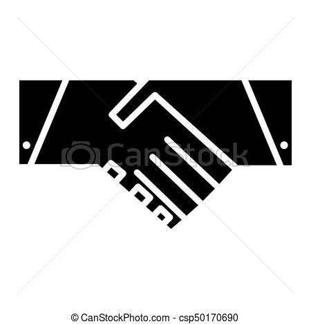 450x470 Handshake Icon. Vector Symbol. Handshake Icon. Partnership And