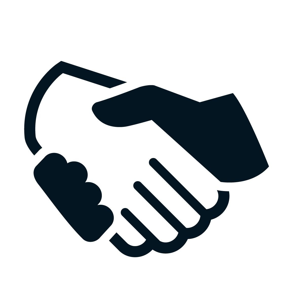 1145x1143 Vector Handshake Free