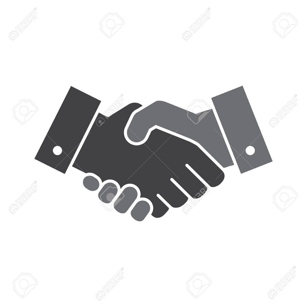 1300x1300 Vector Handshake Icon