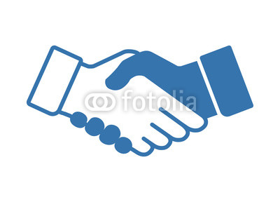 400x288 Vector Illustration Of Handshake Icon Buy Photos Ap Images