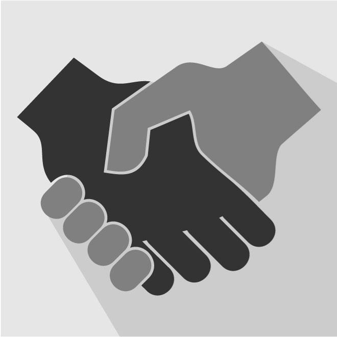 660x660 Handshake Icon Vector