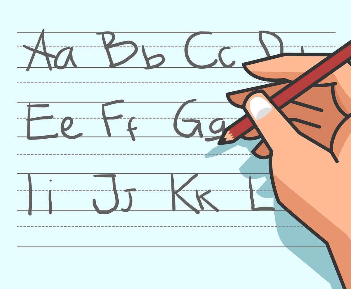 1136x936 Alphabet Handwriting Vector Vector Art Amp Graphics