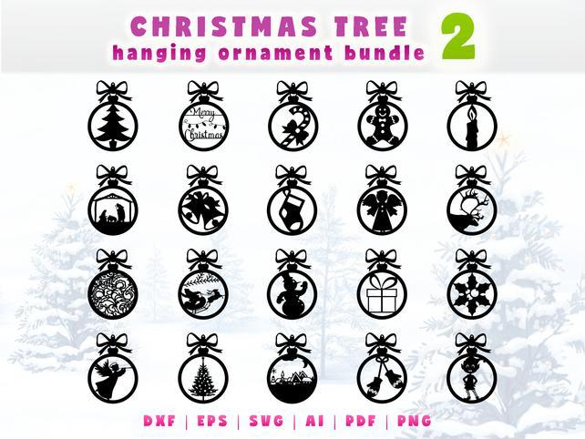 642x482 Christmas Ornaments Set. Christmas Tree Hanging Ornament Etsy
