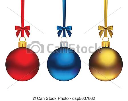 450x357 Christmas Ornaments. Three Cute Hanging Christmas Ornaments In