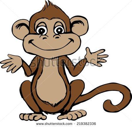 450x432 Drawing Monkey Hanging Unique Chibi Monkey Vector Cartoon Download