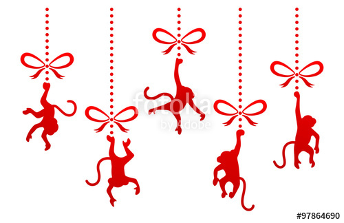 500x324 Hanging Monkey Stock Image And Royalty Free Vector Files On