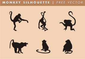285x200 Hanging Monkey Free Vector Graphic Art Free Download (Found 1,232