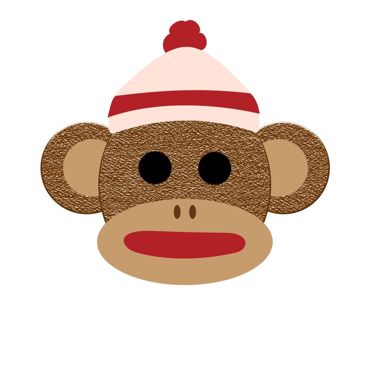 1200x1200 Monkey Face Monkey Clip Art Hanging Monkey Clip Art Vector