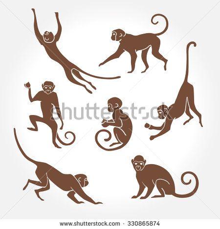 450x470 Sitting, Jumping, Running, Hanging, Walking, Standing Fun Monkey
