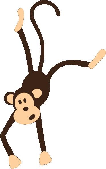 372x592 Monkey Clip Art Hanging Monkey Clip Art