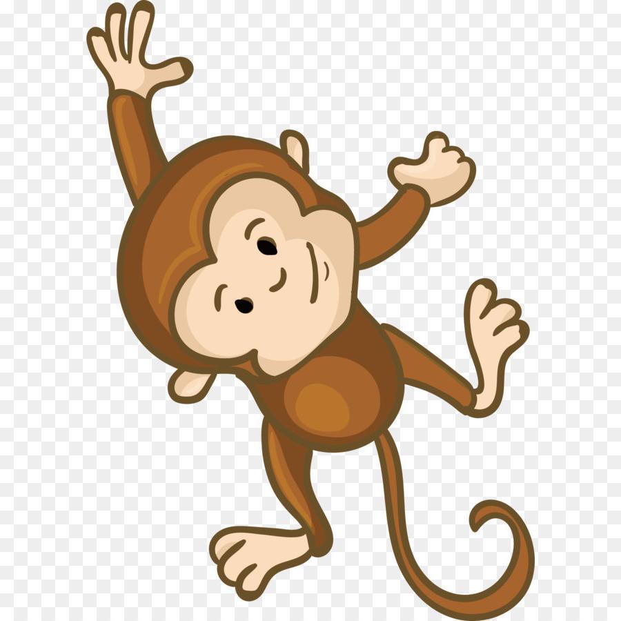 900x900 Best Free Cute Monkey Vector Photos