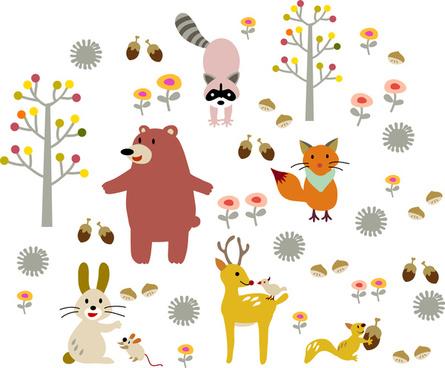 445x368 Cartoon Monkey Hanging Tree Free Vector Download (21,119 Free