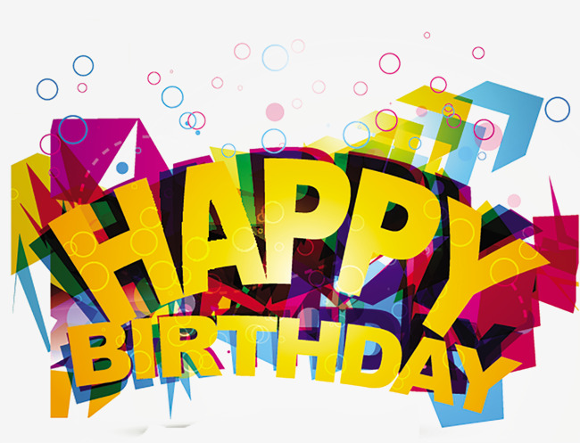 650x497 Happy Birthday, Happy Birthday Vector, Wordart Png And Psd File