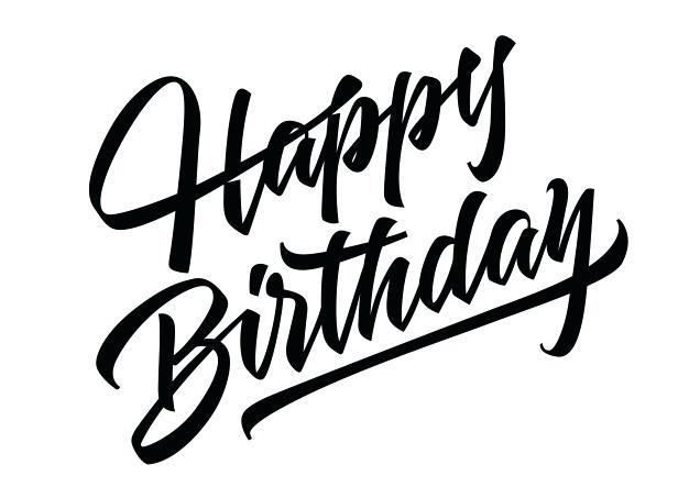 626x443 Happy Birthday Icon Combined With Happy Birthday Lettering Vector