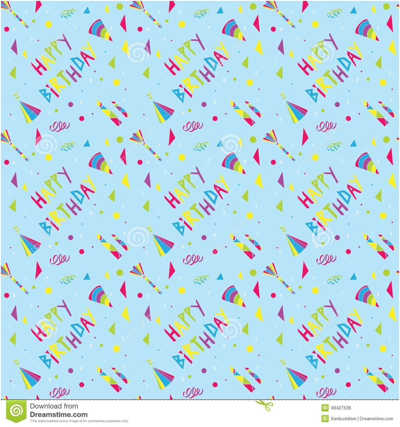 1300x1390 Happy Birthday Vector Free Happy Birthday Pattern Stock